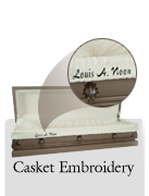 Casket Embroid